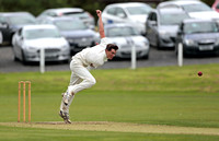 Macclesfield fast bowler Tom Key